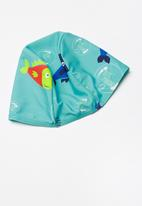 POP CANDY - Printed 2 pc swim suit - blue