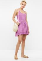 Lizzy - Nura dress - purple