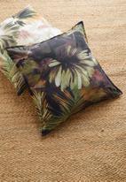 Hertex Fabrics - Kurrajong cushion cover - forest