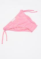 POP CANDY - Girls flower embroidery bikini - pink