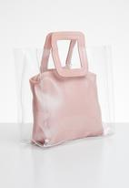 Superbalist - Liz transparent bag - pink