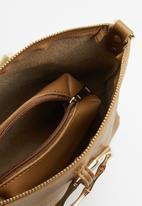 Superbalist - Ring handle bucket bag - tan