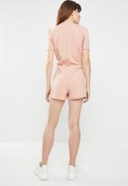 c(inch) - Wrap detail playsuit - pink