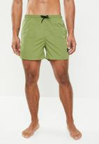 Only & Sons - Tan nt swim shorts - green