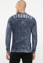 S.P.C.C. - Stack sweatshirt - navy
