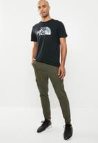 The North Face - Short sleeve mountain line tee - black