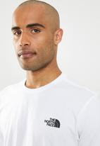 The North Face - Short sleeve simple dome tee - white