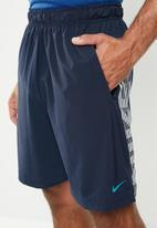 Nike - Nike dry 4.0 shorts - navy & white
