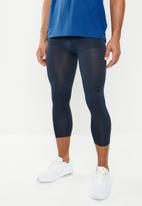 Nike - Nike 3qt tights - navy