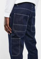 Superbalist - Regular fit tapered jeans - blue