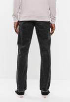 Superbalist - Regular fit tapered jeans - black