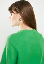 ONLY - Lotta longleeve o-neck sweat - green