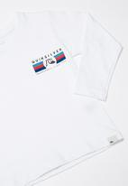 Quiksilver - Step up step down tee - white