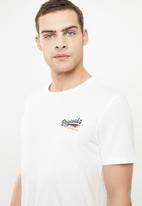 Jack & Jones - Summertime small short sleeve crew neck tee - white