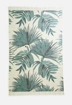 Sixth Floor - Oliana printed rug - green