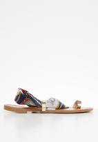 Miss Black - Kalie sandal - multi