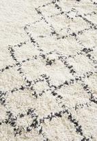 Sixth Floor - Ivy cotton tufted bath mat - cream