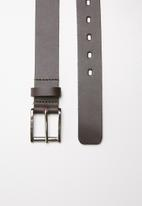 Superbalist - Contrasting stitch belt - brown