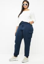 Missguided - Combat trousers - navy