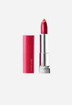Maybelline - Color sensational made for all lipstick - plum for me