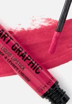 Rimmel - Lip art graphic liner & liquid lipstick - 110 vibes