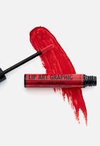Rimmel - Lip art graphic liner & liquid lipstick - 550 cuff me