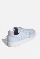 adidas Originals - Supercourt - aero blue & crystal white