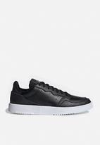 adidas Originals - Supercourt - core black / ftwr white