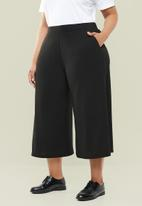 Superbalist - Wide leg culottes - black