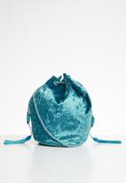 Superbalist - Blossom pouch bag - turquoise