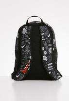 Nike - Nike Brasilia back pack - black & white