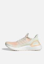 adidas Performance - UltraBOOST 19 w - off white, glow pink & glow orange