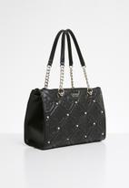 GUESS - Jeana status satchel - black