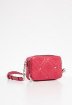 GUESS - Jeana mini crossbody camera bag - pink