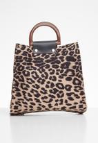 Superbalist - Leopard print bag - multi
