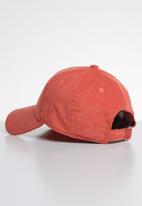 New Era - 9Forty womens micro cord  Los Angeles Dodgers  - coral