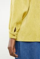 Missguided - Corduroy shirt - yellow