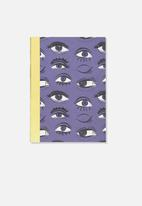 Typo - A5 graduate journal - purple