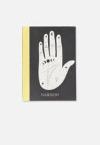 Typo - A5 graduate blank notebook - black