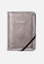 Typo - Rfid passport holder - silver