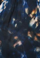 Superbalist - Tie dye utility playsuit - tie dye