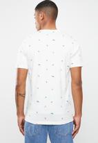 Jack & Jones - Hivaz short sleeve polo - white