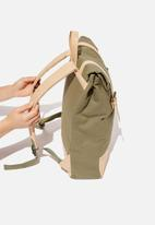 Typo - Roll top backpack - khaki