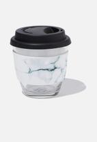 Typo - All day travel cup 8oz - white & black