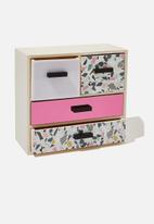 Typo - 4 drawer & store - multi