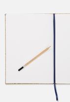 Typo - A4 sketch notebook - neutral