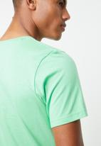 Jack & Jones - Howey short sleeve crew neck - green
