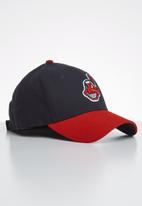 New Era - 9forty Cleveland indians the league - navy & red