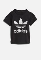 adidas Originals - Short sleeve trefoil tee - black