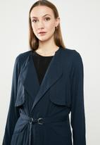 STYLE REPUBLIC - Light weight trench coat - navy